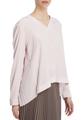 Блуза с плиссировкой на спинке