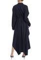 Асимметричное платье-рубашка