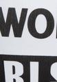 Топ с печатным слоганом