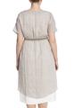 Льняное платье с подкладой