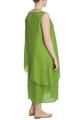 Платье из полированного льна