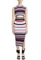 Платье-миди из джерси