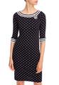 Платье-футляр из джерси