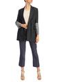 Двубортный пиджак и льна и хлопка