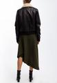Асимметричная юбка из джерси