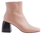 Ботинки в ретро-стиле на массивном каблуке