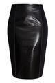 Комбинированная юбка-карандаш