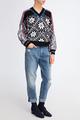 Пуловер со скандинавским орнаментом